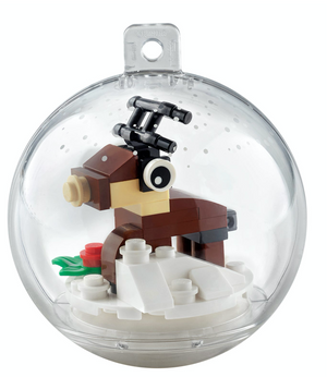 Lego 854038 Reindeer Christmas Ornament 24 Pieces New with Tags