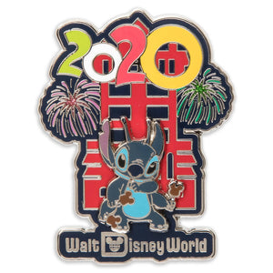 Disney Parks Stitch at Hollywood Tower Hotel Walt Disney World 2020 Pin New