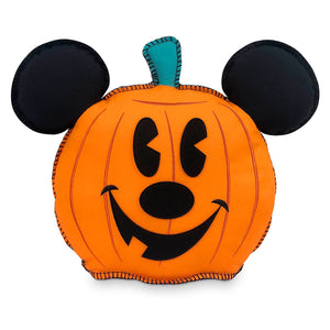 Disney Mickey Mouse Pumpkin Jack-o'-Lantern Halloween Pillow New with Tag