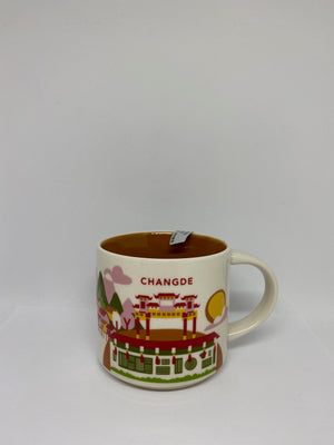 Starbucks You Are Here Collection Changde China Ceramic Coffee Mug New With Box