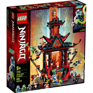Lego 71712 NINJAGO Empire Temple of Madness Ninja Temple New with Sealed Box