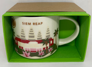 Starbucks You Are Here Collection Siem Reap Cambogia Coffee Mug New With Box