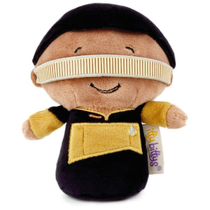 Hallmark Star Trek Geordi La Forge Limited Itty Bittys Plush New with Tag