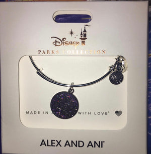 Disney D23 Expo 2019 Bangle Alex and Ani Silver Finish Bracelet New with Box