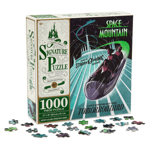 Disney Parks Space Mountain 45th Anniversary Puzzle New with Box