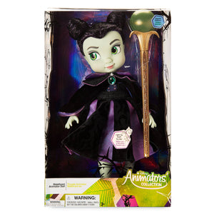 Disney Animators Collection Maleficent Doll Sleeping Beauty Special Edition 16''