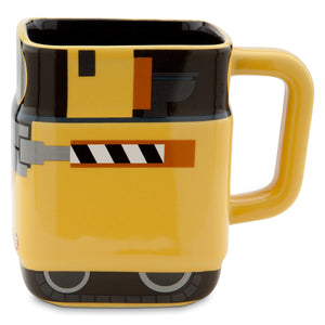 Disney Store 3d Wall-e Ceramic Mug Rare New