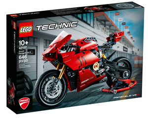 Lego 42107 Technic Ducati Panigale V4 R New with Sealed Box