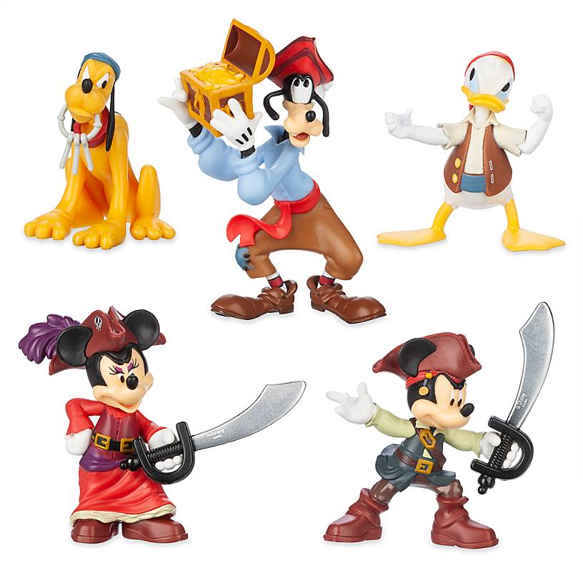 Disney Parks Pirates of the Caribbean Attraction Figurine Playset Play Set NEW
