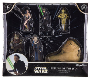 disney parks star wars return of the jedi figurine playset cake topper new with box