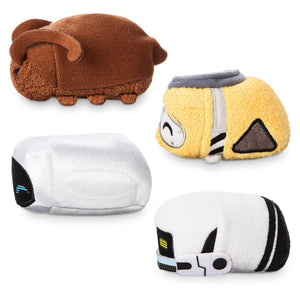 Disney Usa 10th Anniversary Wall-e and Eve Mini Tsum Set Plush New with Tags