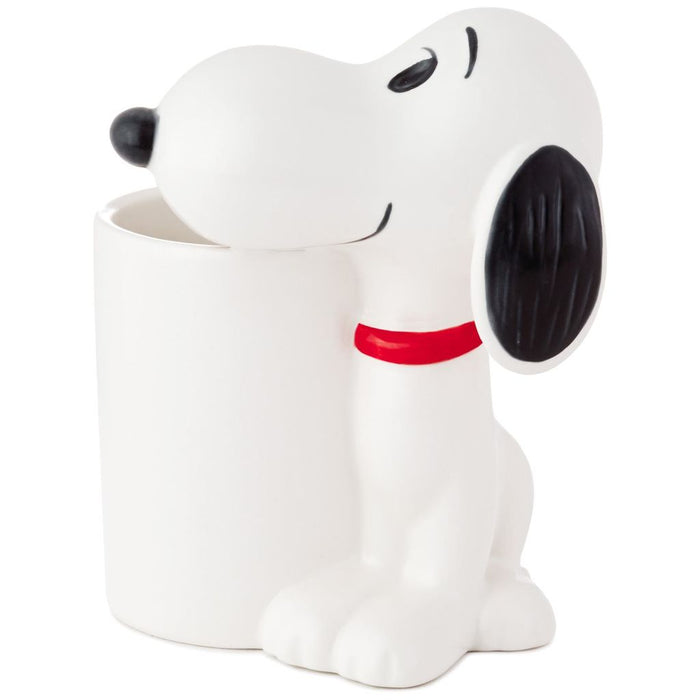 Hallmark Peanuts Snoopy Ceramic Pencil Holder New