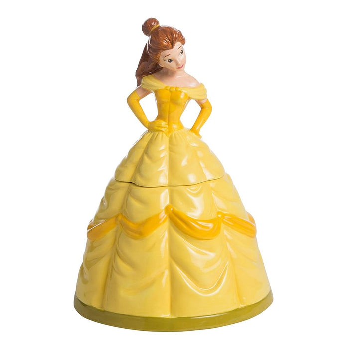 Disney by Vandor Belle Sculpted Cookie Jar New with Box