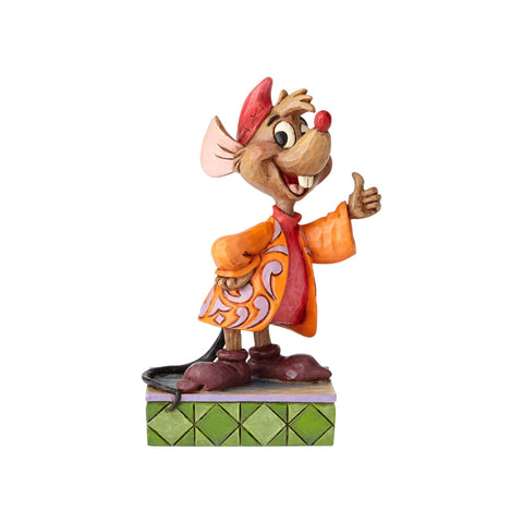 Disney Traditions Jaq Personality Pose Jim Shore Resin Figurine New with Box