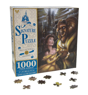 Disney Parks Signature Puzzle 25th Beauty & the Beast 1000 pcs Puzzle New Box