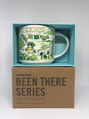 Starbucks Been There Series Collection Mexico Ceramic Coffee Mug New with Box