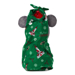 Disney Parks Babies Minnie Yuletide Farmhouse Holiday Plush Doll in Pouch New