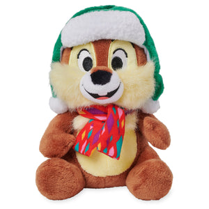 Disney Chip Chear Holiday Mini Bean Bag Plush New with Tags