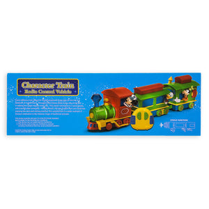 Disney Parks Mickey and Friends Character Train Radio Control Vehicle New W Box