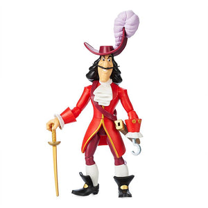 Disney Captain Hook Action Figure Toybox New with Box