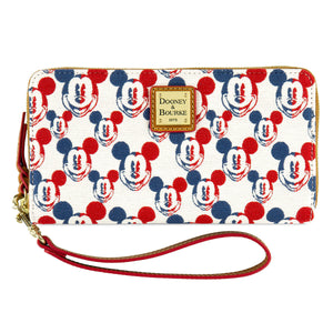 Disney Dooney & Bourke Mickey Americana Wallet New with Tags