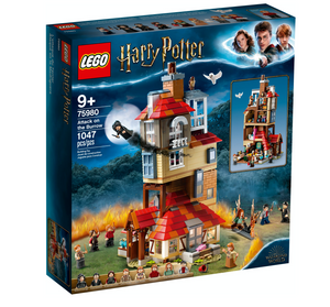 Lego 75980 Harry Potter Attack on the Burrow Set New with Sealed Box