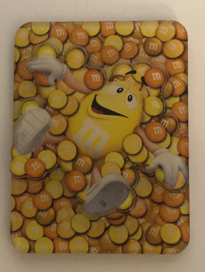 M&M's World Yellow Characters Magnet New