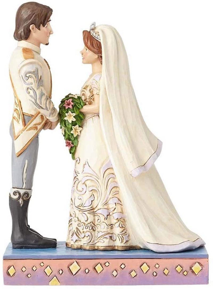 Disney Jim Shore Traditions Rapunzel Flynn Wedding The Big Day Figurine New Box