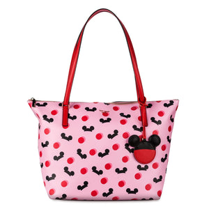 Disney Mickey Mouse Ear Hat Tote Pink by Kate Spade New York New with Tag
