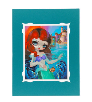 Disney Parks Ariel Deluxe Print by Becket Griffith New