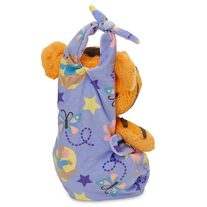 Disney Parks Baby Tigger in a Blanket Pouch Plush New with Tags