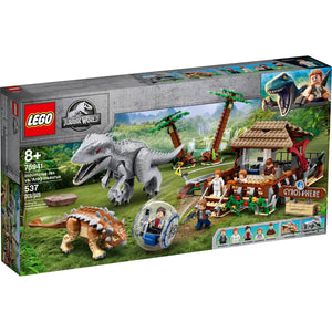 Lego 75941 Jurassic World Indominus rex vs. Ankylosaurus New with Sealed Box