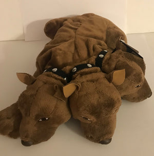 Universal Studios The Wizarding World Harry Potter Fluffy Dog Puppy Plush New