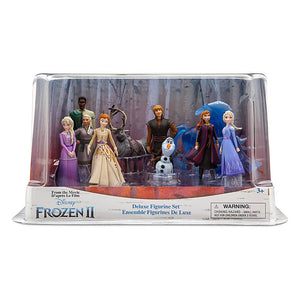 Disney Store Frozen 2 Deluxe Figure Play Set Playset Figurine Toy Cake Topper