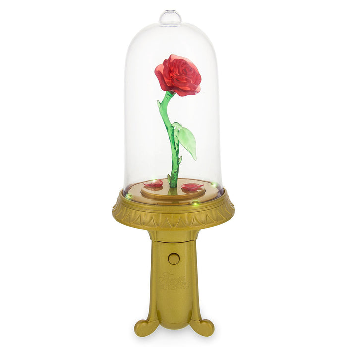 Disney Enchanted Rose Light-Up Spinner Beauty and the Beast New