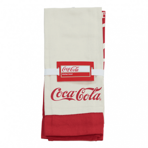 Authentic Coca Cola Coke Pre-1910 Kitchen Towels Set/2 New with Tags