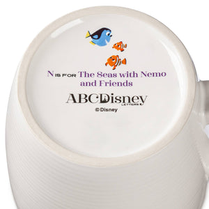 Disney Parks ABC Letters N is for The Seas with Nemo and Friends Coffee Mug New