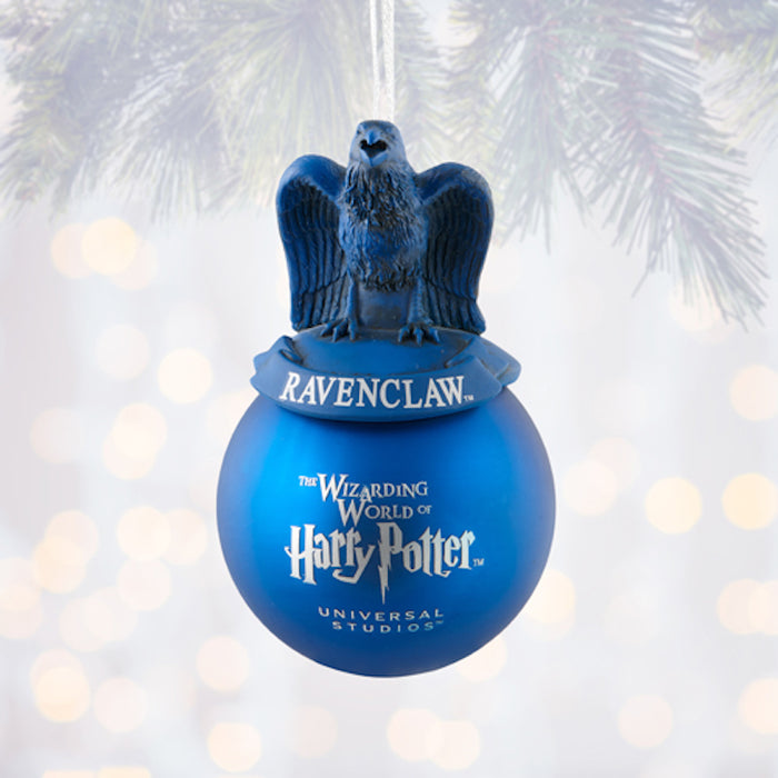 Universal Studios Harry Potter Ravenclaw House Ball Christmas Ornament New Tag