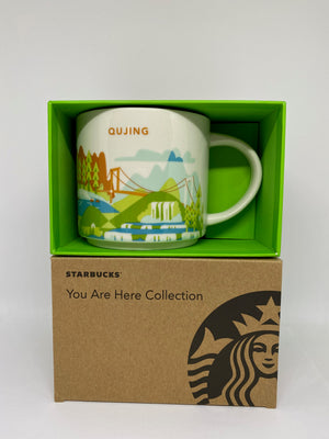 Starbucks You Are Here Collection Qujing China Ceramic Coffee Mug New With Box