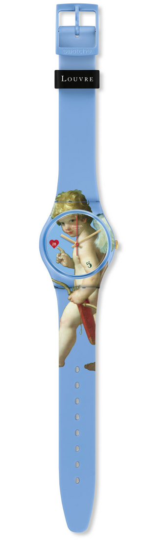 Swatch For Louvre Fleche D' Amour The Abduction Limited Watch New with Box