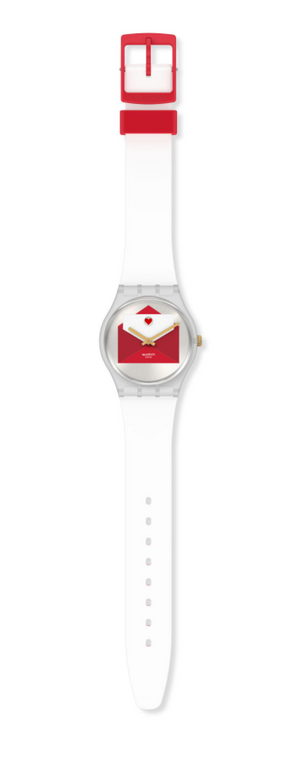 Swatch 2020 Valentine You'Ve Got Love Limited Edition Watch New with Box
