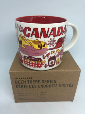 Starbucks Been There Series Collection Canada Ceramic Coffee Mug New with Box