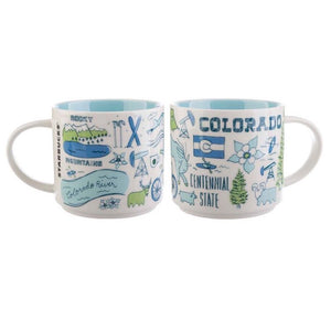 Starbucks Coffee Been There Colorado Ceramic Coffee Mug New with Box