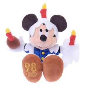 Disney Store Japan 90th 1942 Mickey's Birthday Party Plush New with Tags