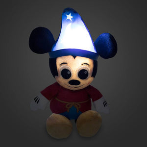 Disney Sorcerer Mickey Mouse Light-Up Micro Plush New with Tag