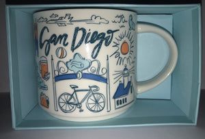 Starbucks Been There Series Collection San Diego California Coffee Mug New