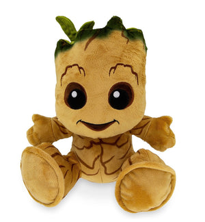 Disney Parks Marvel Guardians of Galaxy Groot Big Feet Plush New with Tags