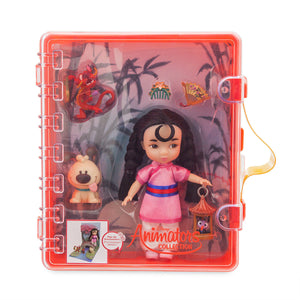 Disney Animators Little Collection Mulan Mini Doll Playset New With Tags
