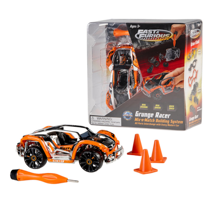 Universal Studios Fast & Furious Diecast Grunge Racer New with Box