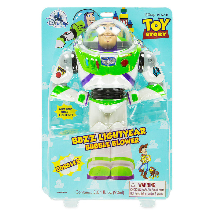 Disney Parks Buzz Lightyear Bubble Blower Toy New with Box